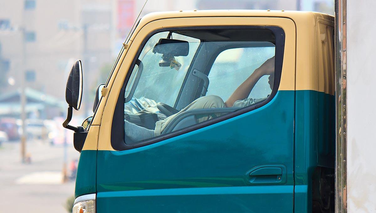 Szieszta a kamionban?
